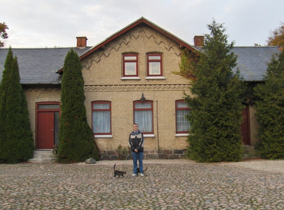 Uffe foran Toftagergård